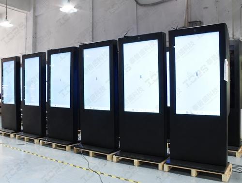 户外液晶广告机白屏如何处理?