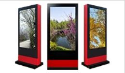安装在户外风冷款与空调款的广告机有什么区别呢?