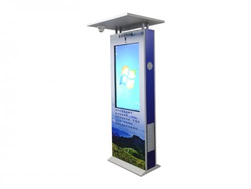 智能公交站广告机